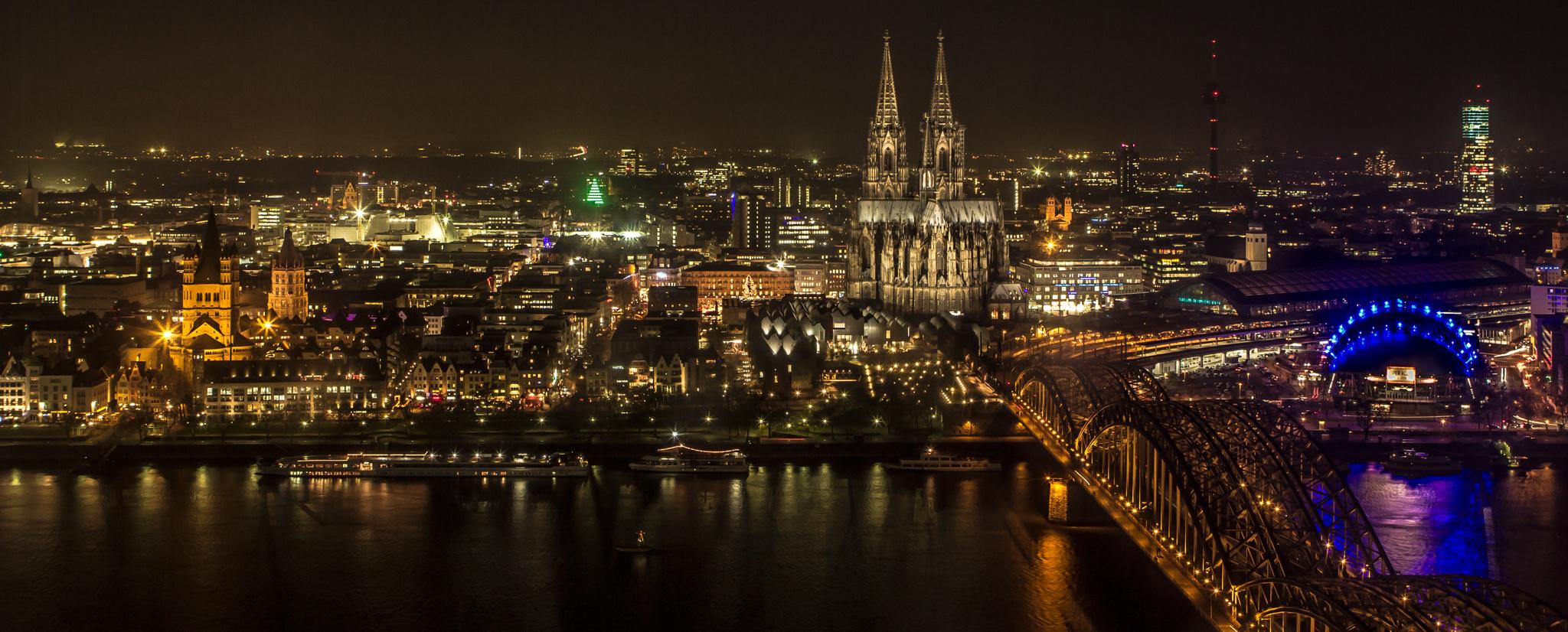 Ausblick über Köln