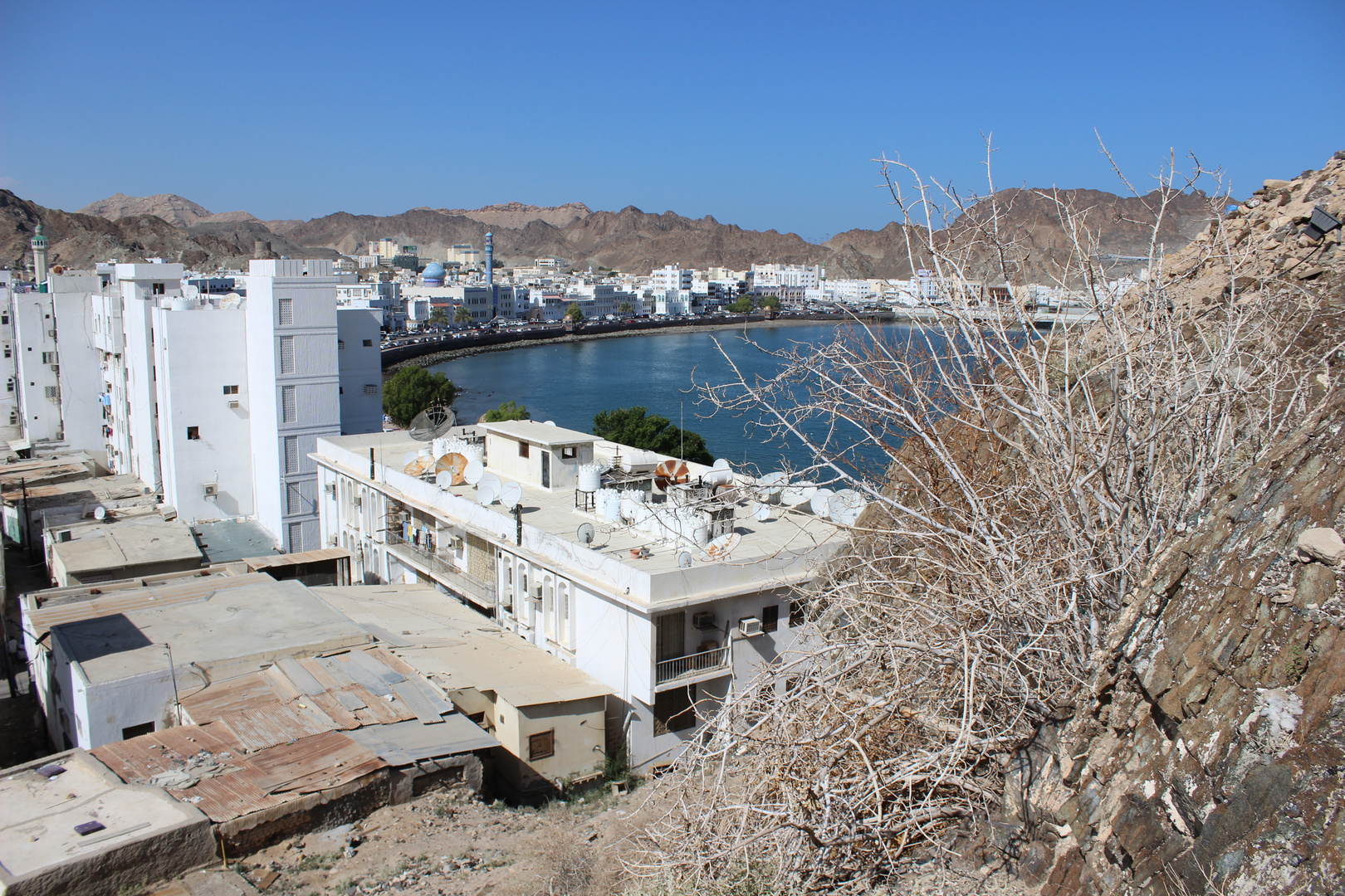 Ausblick über Muscat