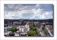 Ausblick über Viersen ... nach 168 Stufen auf die Remigiuskirche ...