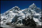 Ausblick vom Aussichtsberg Kalar Patar 5.600 m
