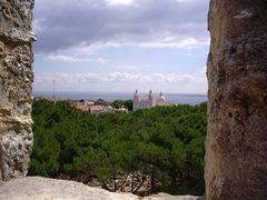 Ausblick vom Castelo de São Jorge, Lisboa, Portugal