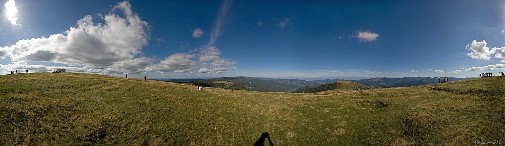 Ausblick vom Hohneck