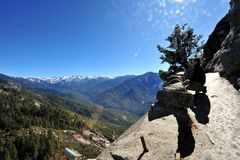 Ausblick vom Moro Rock -Sequoia NP