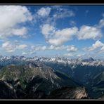 ~~ Ausblick vom Muttekopf 2774m Seehöhe ~~
