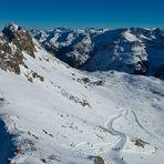 Ausblick vom Nebelhorn...