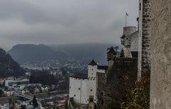 Ausblick von der Festung Hohensalzburg