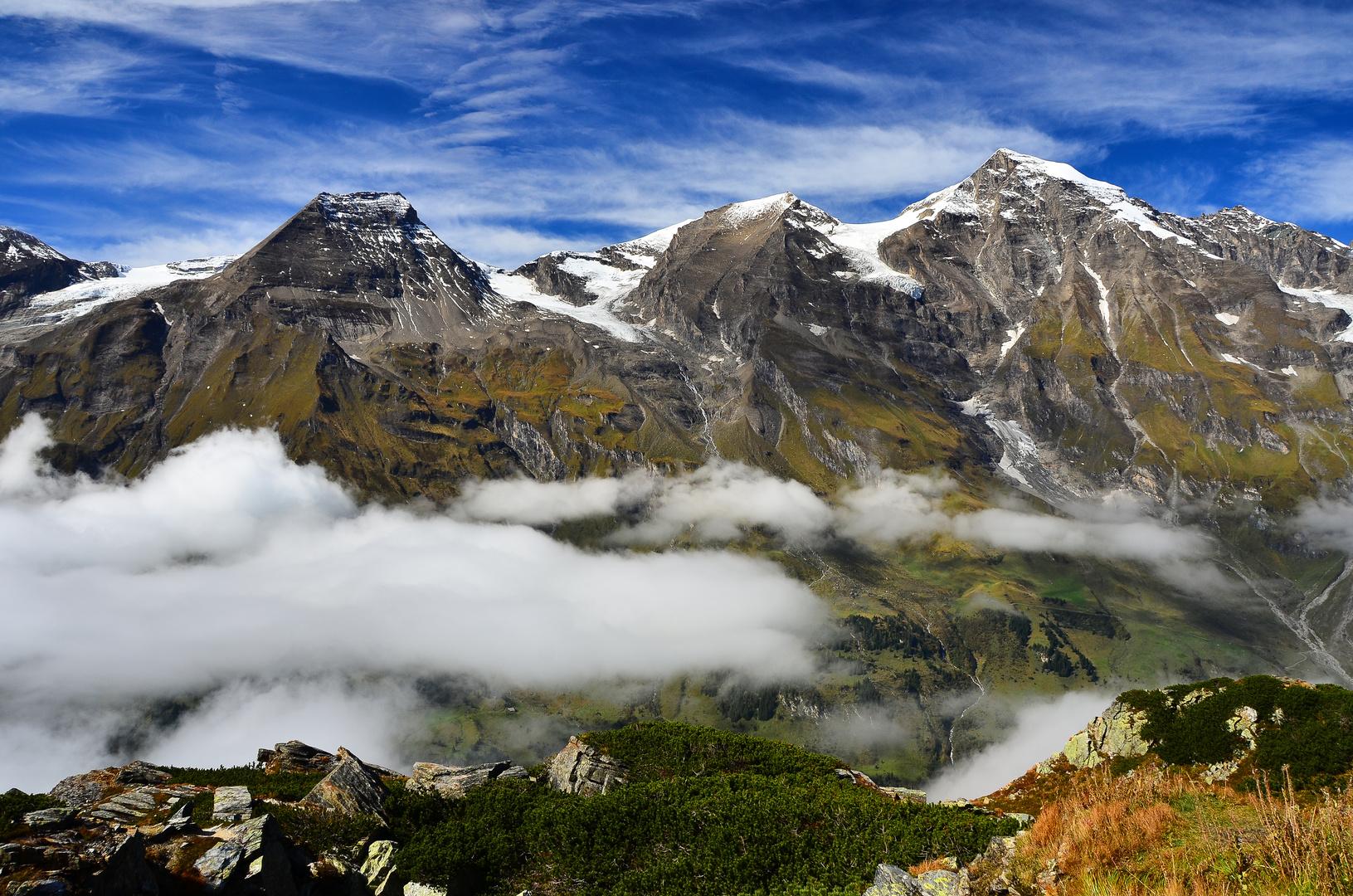 Ausblick von der Großglockner Alpenstraße ~ 2