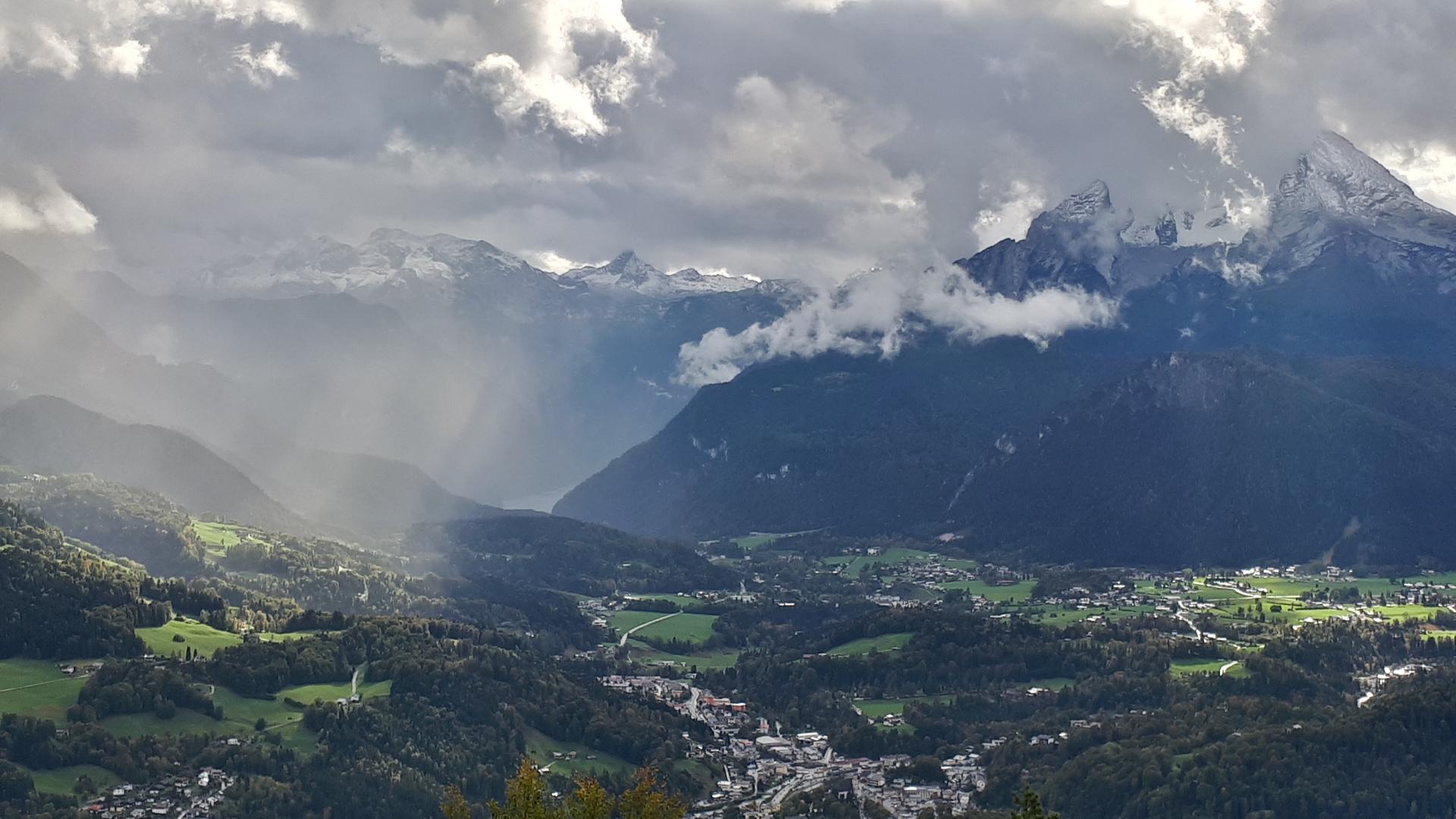 Ausblick von der Kneifelspitze...