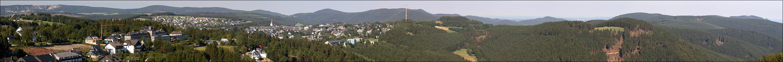 Ausblick von der Panorama-Brücke