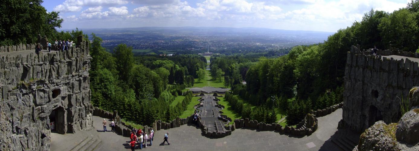 Ausblick von Kassel.