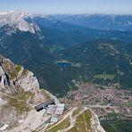 Ausblick Westliche Karwendelspitze