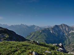 Ausblick zu den Lechtaler Alpen