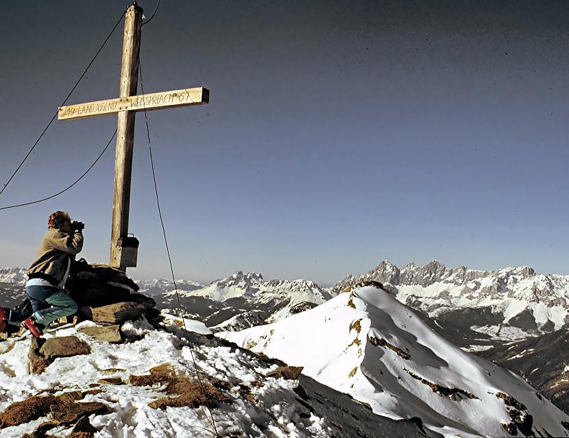Ausblicke von der Lugauer Kalkspitze