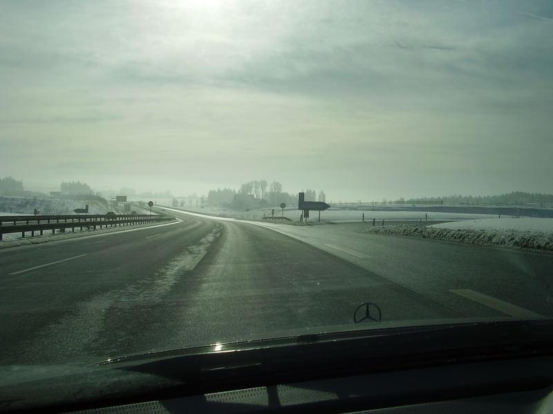 Ausfahrt an der A9