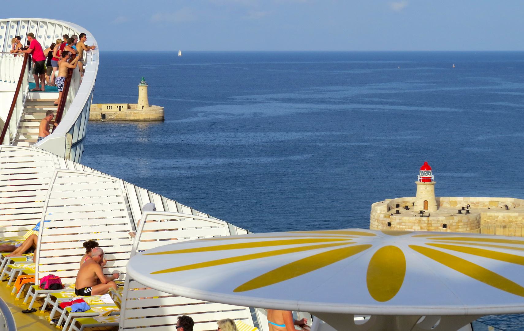 Ausfahrt aus Valletta