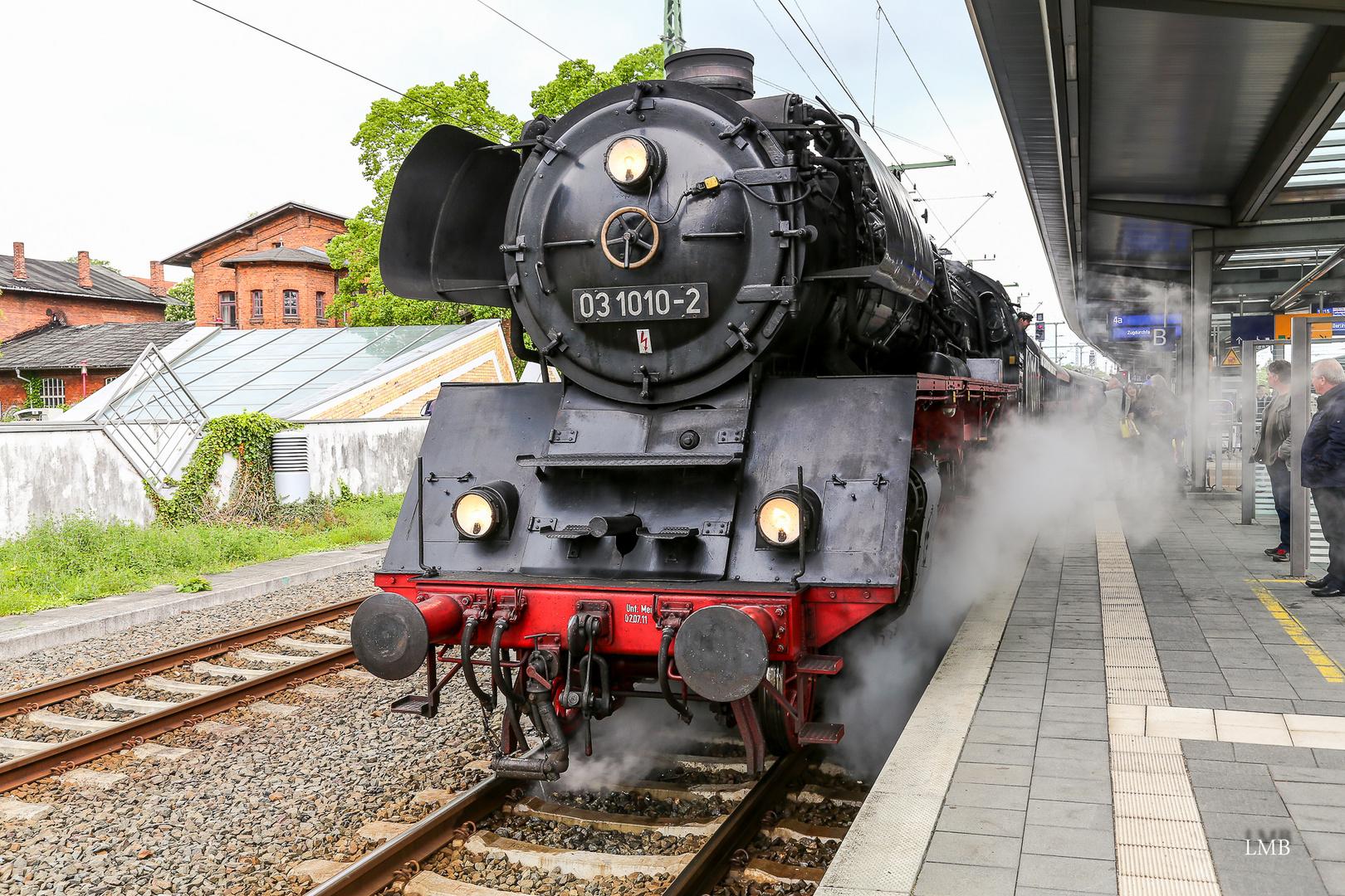 Ausfahrt in Schwerin