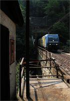 Ausfahrt Oberer Klamm-Tunnel
