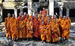 Ausflug der Mönche