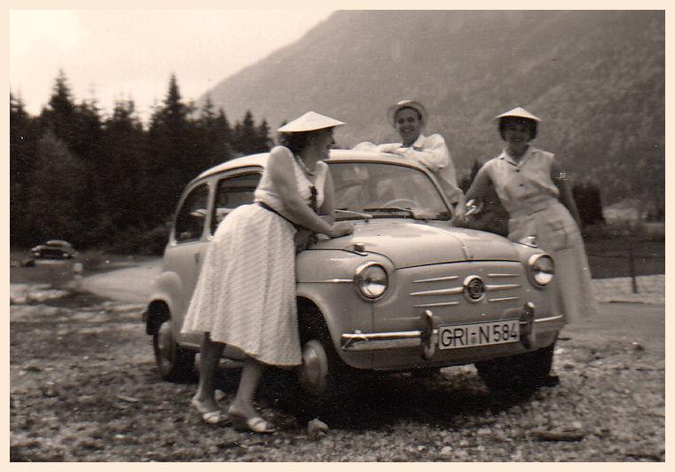 Ausflug im Fiat 600