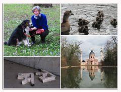 Ausflug mit Sigrun zum Schwetzinger Schlosspark