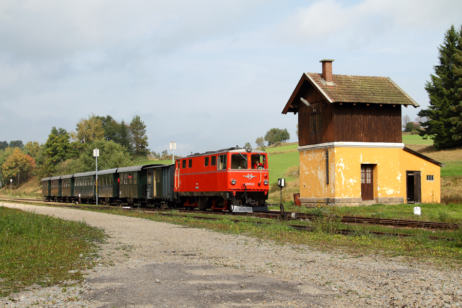Ausflug zur Waldviertelbahn (1)