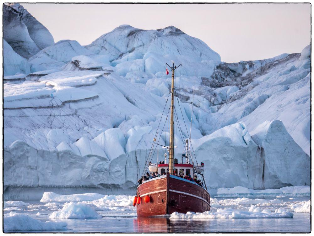 Ausflugsfahrt ins Eis