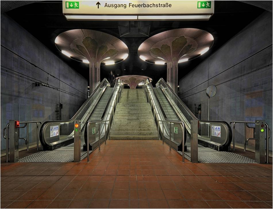 Ausgang Feuerbachstraße