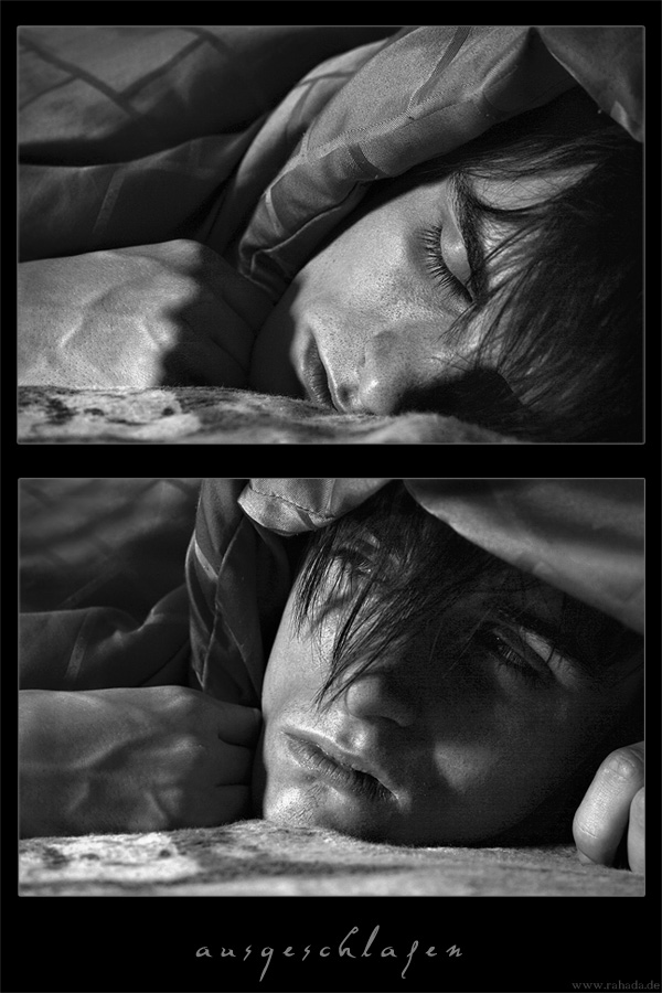 ... ausgeschlafen ...
