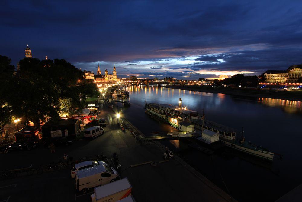 Ausklang Stadtfest Dresden 2013