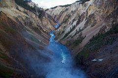 Auslauf des Yellowstone Lake
