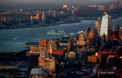 Auslaufen aus New York