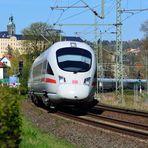 """""""Auslaufmodell ICE"""" auf der Saalbahn"""