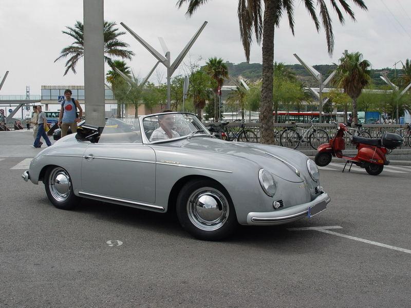 Auslieferung: Porsche 356 Cabrio