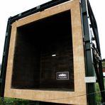 ausrangierte Brennkammer