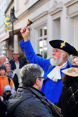 Ausrufer-Wettbewerb in Jever (Friesland, Okt. 2011)
