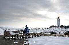 Ausruhen am Leuchtturm