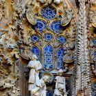 """Ausschnitt Fassade """"Sagrada Familia"""""""