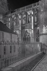 Ausschnitt Kathedrale Bayeux  (Der Zaun)