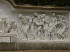 Ausschnitt rechte Seite aus dem Relief