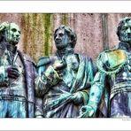 Ausschnitt .. Reiterdenkmal von Friedrich Wilhelm III. am Heumarkt zu Köln