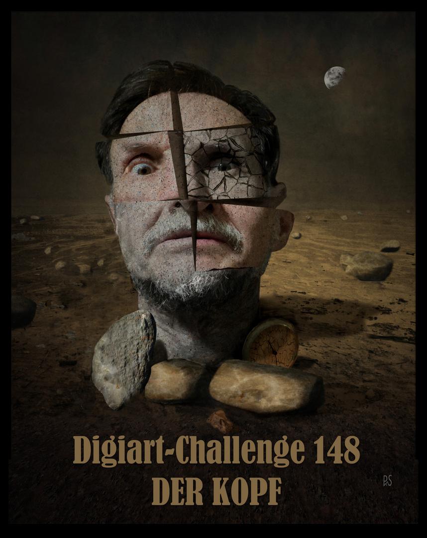 """Ausschreibung Digiart-Challenge 148 - """"DER KOPF"""""""