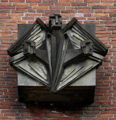 Außen-Relief Dreifaltigkeits-Kirche Harburg