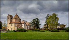 Außenansicht Abteikirche Ottmarsheim