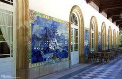 Außenwand mit Azulejo