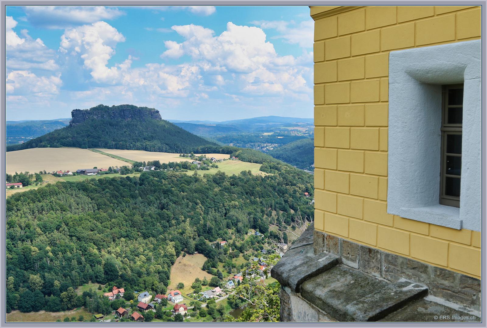 Aussicht auf Lilienstein aus Festung Königstein  2020-07-19 088 (10)_Lumi ©