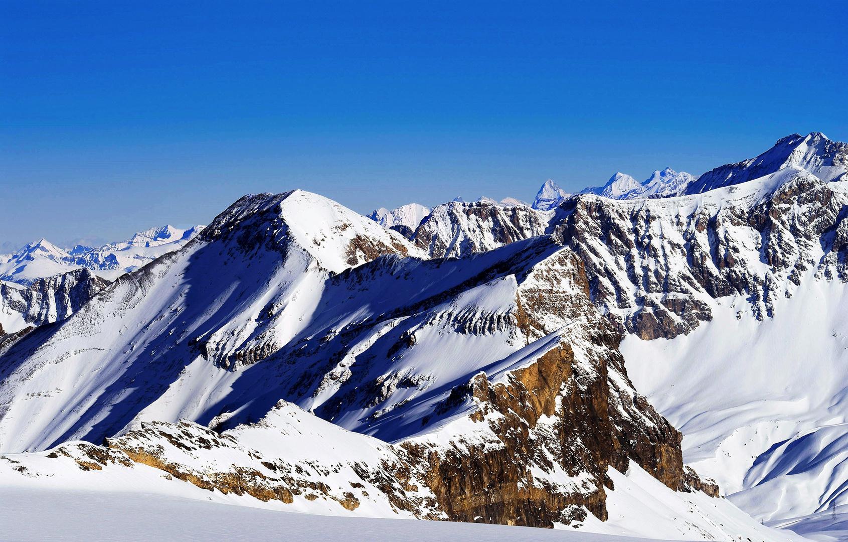 Aussicht Glacier 3000 Nr. 2