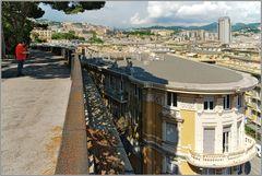 Aussicht über Genua...