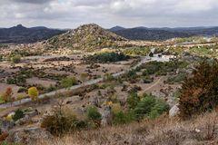 Aussicht vom Berg Le Caylar