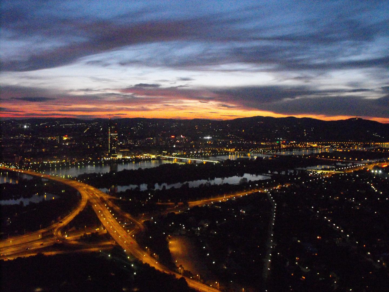 Aussicht vom Donauturm