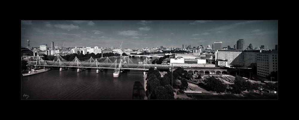 Aussicht vom London-Eye